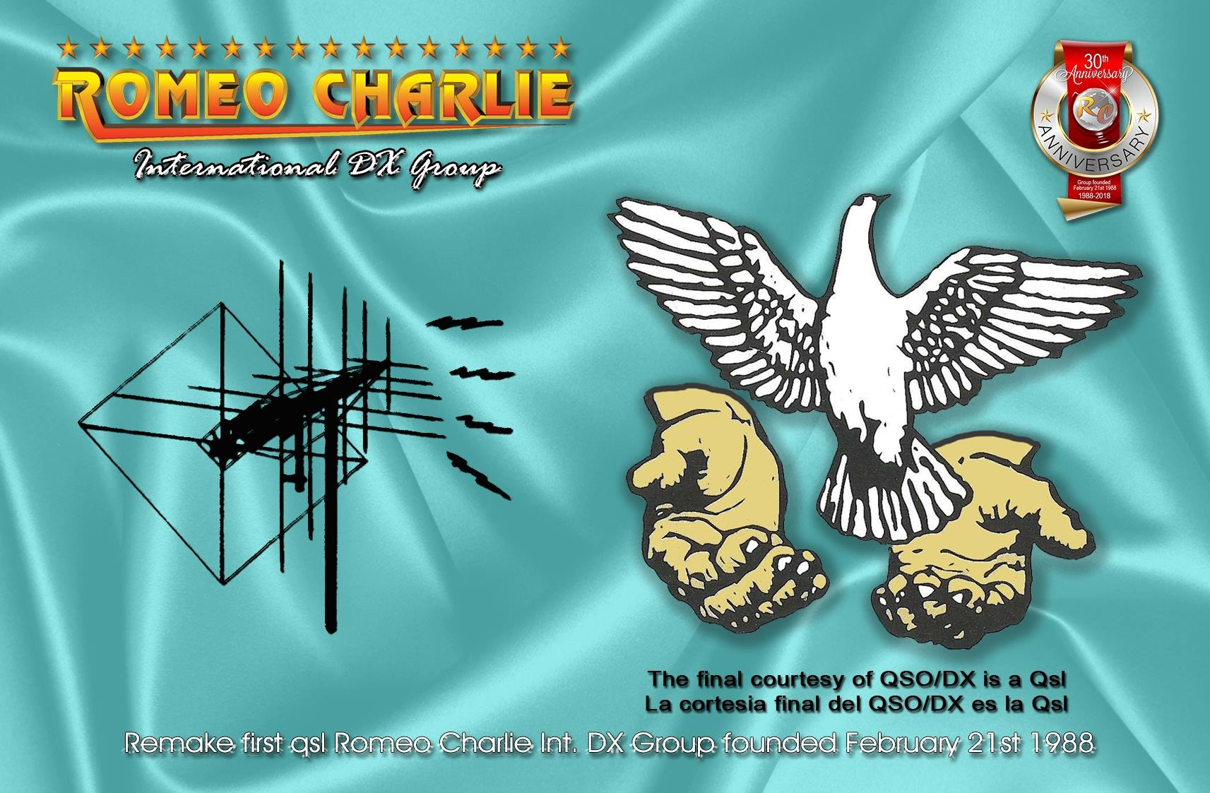 QSL Special 30 ans front