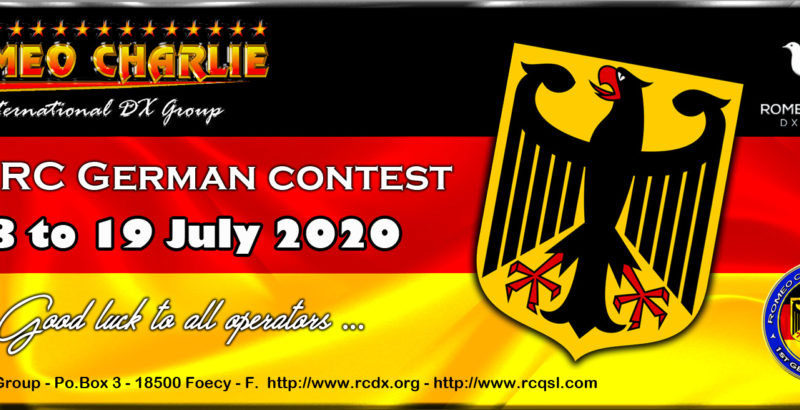 1st RC German contest