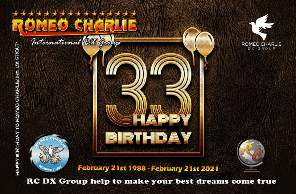 33rd RC Birthday